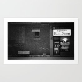 Kim Dung Art Print
