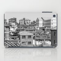 seoul iPad Cases featuring Seoul Rooftops by Jennifer Stinson
