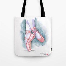 ballet sneaker Tote Bag