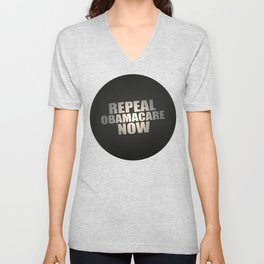 Repeal Obamacare Now Unisex V-Neck
