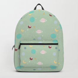 (lost my) head in space Backpack