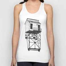Isolated Unisex Tank Top
