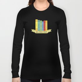 The Jane Austen's Novels III Long Sleeve T-shirt