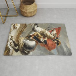 Bonaparte Crossing the Alps Rug