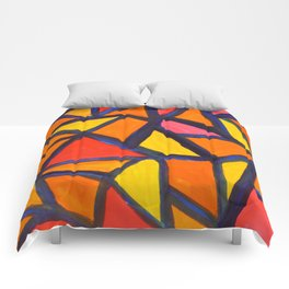 Striking Abstract Pattern Comforters