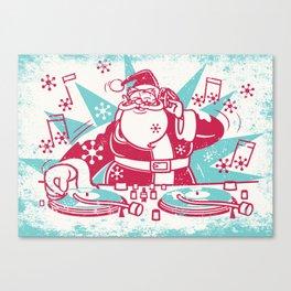Funky Santa Canvas Print