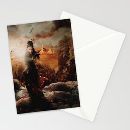 Character Poster Series - The Queen Stationery Cards