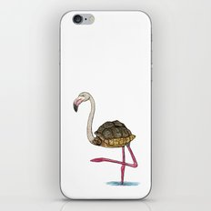 Flamingoise iPhone & iPod Skin