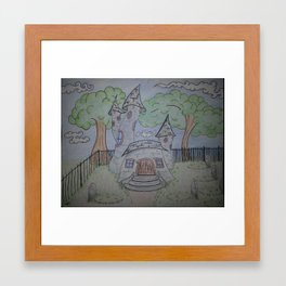 Grave Framed Art Print
