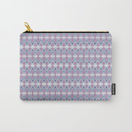 Diamond Tesselation Pattern Carry-All Pouch