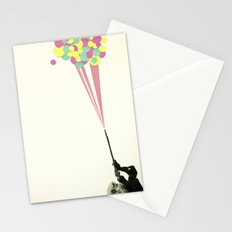 Water Fight Stationery Cards