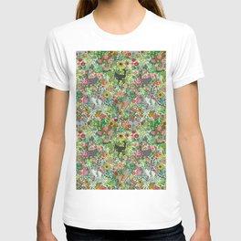 Garden Cats T-shirt