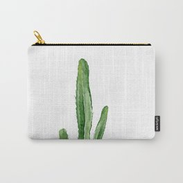 Cactus. Watercolor plant. Carry-All Pouch