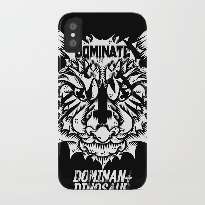 Satanic tiger iPhone Case