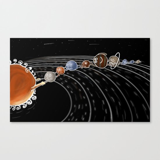 solar power II Canvas Print