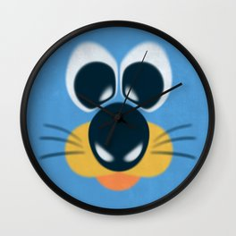 Puppy Face  Wall Clock