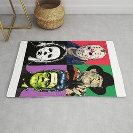 Horror Pop Art Rug