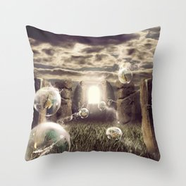 Equinox Throw Pillow