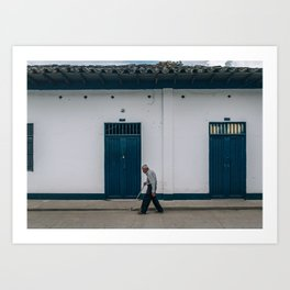 After Chruch (Colombia) Art Print