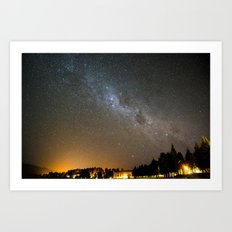 Milky Way 01373 Art Print