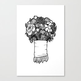 Lovely Bouquet n.1 Canvas Print