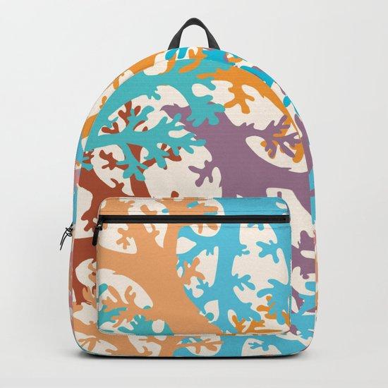 Pastel Marine Pattern 05 Backpack