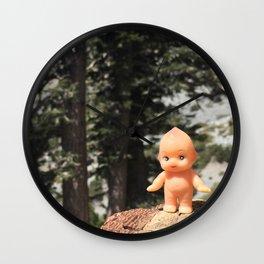 Kewpie Hikes Wall Clock