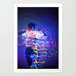 Lost in the Storm Art Print