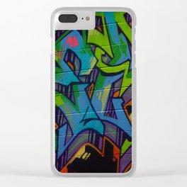 Atlanta Street Art Clear iPhone Case
