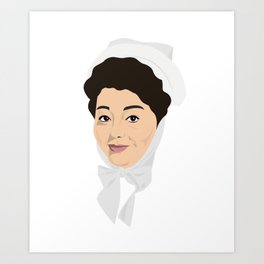Carry on Hattie Jacques Art Print