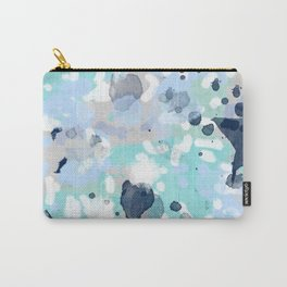 Riley - abstract gender neutral nursery home office dorm decor art abstract painting Carry-All Pouch
