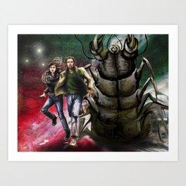 Bugout Art Print