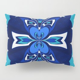 Pacific Northwest Coast Native Medallion Pillow Sham