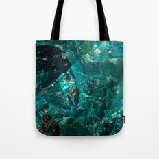 Cracked Teal Sugar Tote Bag