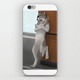 The Diamond Dog iPhone Skin
