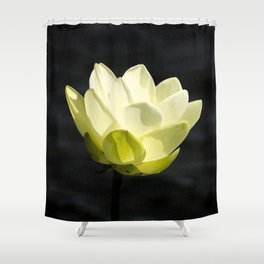 Cold As The Man In The Moon Shower Curtain