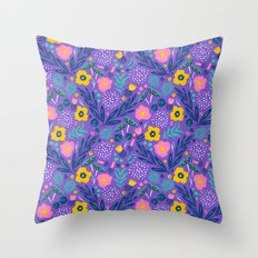 Flora Delight Throw Pillow