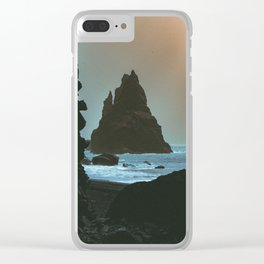 Sandstorm, Iceland Clear iPhone Case