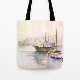 2 Boats Tote Bag