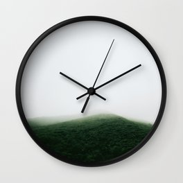 Basecamp mountain. Wall Clock