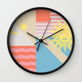 Sun & Sky Wall Clock