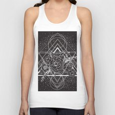 Flowers of Space Unisex Tank Top