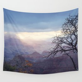 Breaking the Darkness Wall Tapestry