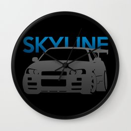 Nissan Skyline GT-R  Wall Clock