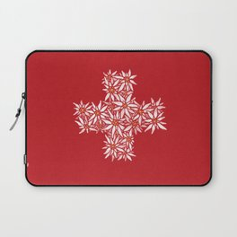 Swiss Edelweiss Laptop Sleeve