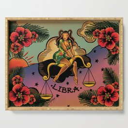 Tattoo Libra Serving Tray