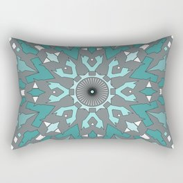 Abstract ethnic pattern. Rectangular Pillow