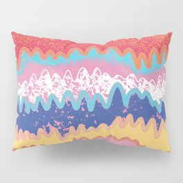lava mountains Pillow Sham