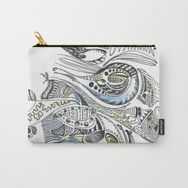 Maize & Blue Carry-All Pouch