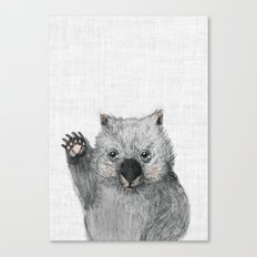 Wombat fellow Canvas Print